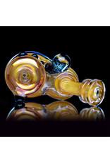 """4"""" Gold Fume 2 Piece Sherlock by Lavender Jones (A)"""