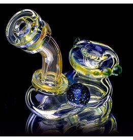 """4"""" Silver Fume 2 Piece Sherlock by Lavender Jones (B)"""