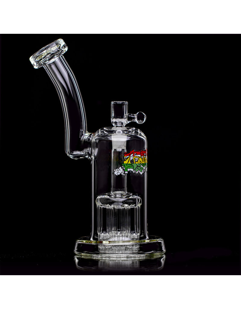 """Leisure 10"""" 44 Magnum Bubbler with Slide by Leisure Glass"""