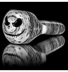 """Witch DR SOLD 4"""" Glass Dry Pipe Doctober Themed Classic Betula Birch JACK (A10) by Witch DR"""