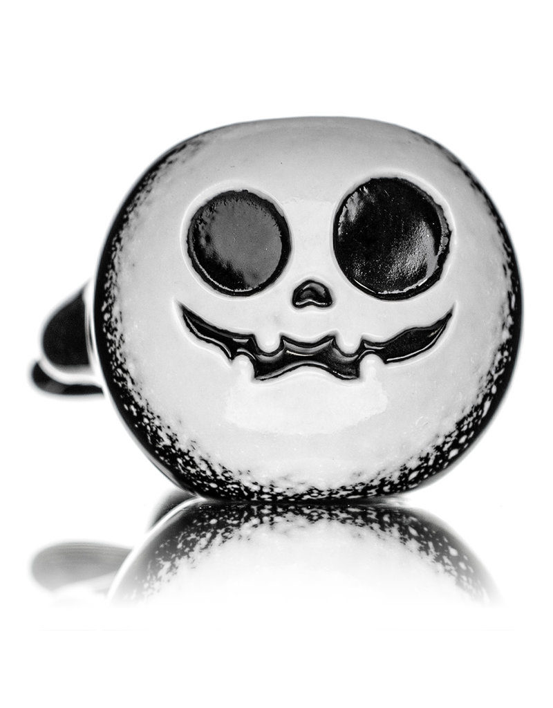 Witch DR DOCT21 R Black & White Pumpkin Pipe by Witch DR