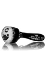 """Witch DR 5"""" Doctober PP Black & White Pumpkin Pipe"""