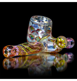 "Hugh Glass Doctober 6"" Hugh Glass Fume Sidecar Dry Pipe (E)"