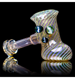 """Witch DR 5"""" Sleeved Fume Hammer with Marble Cluster (FFA) by Witch DR Studio"""