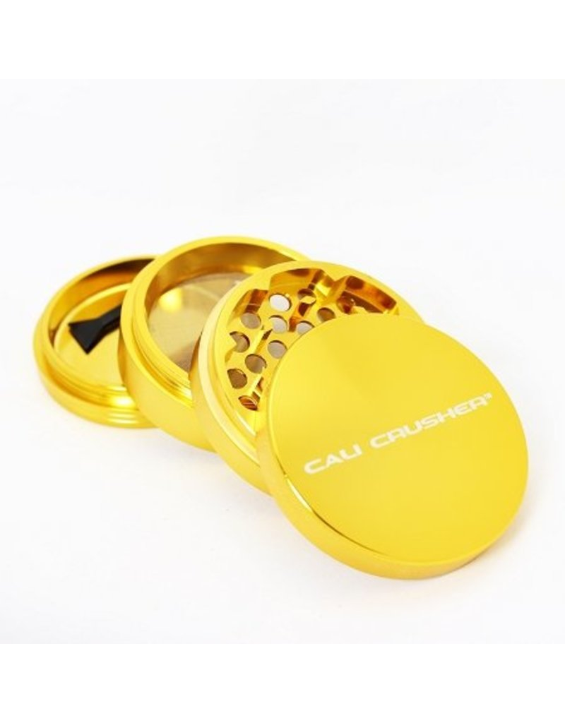 Cali Crusher 2.5'' 4 Piece Gold Cali Crusher