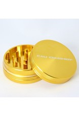 Cali Crusher 2'' 2 Piece Gold Cali Crusher