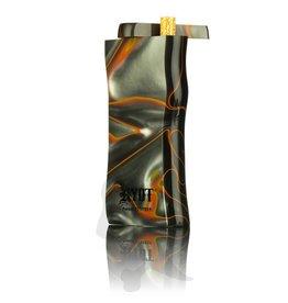 Ryot Large Acrylic Dugout w/Metal Bat Gray & Orange