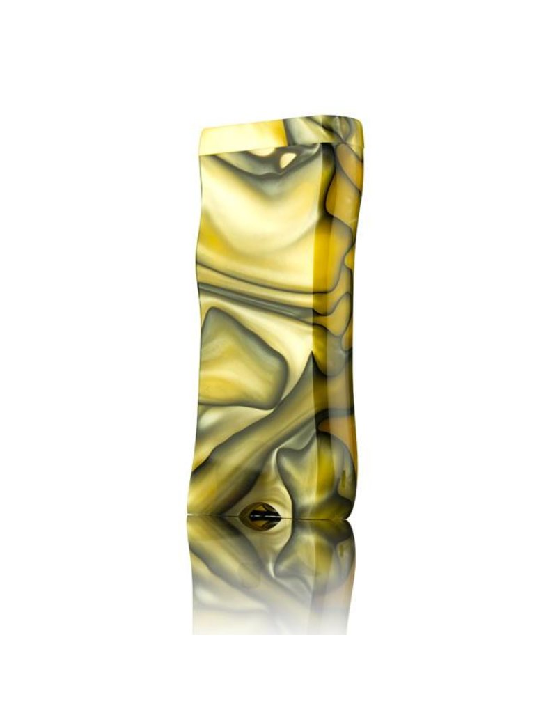 Ryot Large Acrylic Dugout w/Metal Bat Yellow & Black