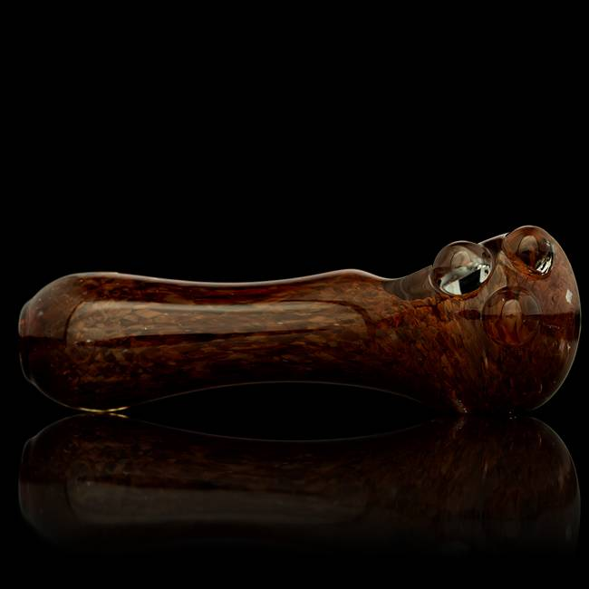 Witch DR Witch DR Dragon's Blood Inside Out Frit Hand Pipe by Treso Queso