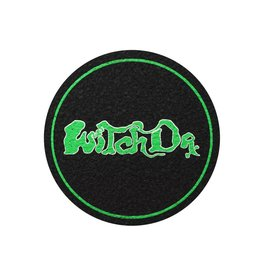 """Moodmats 8"""" Green Witch Dr Rubber Moodmat 