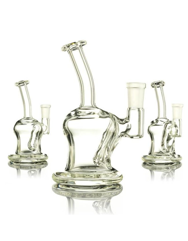 Mass Pipes Mass Pipes Clear Mini Banger Hanger Dab Rig