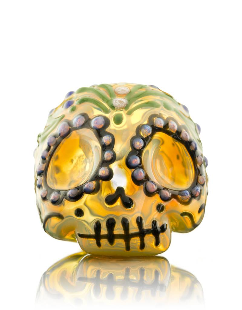 Dina K Dina K Flower Sugar Skull Spoon