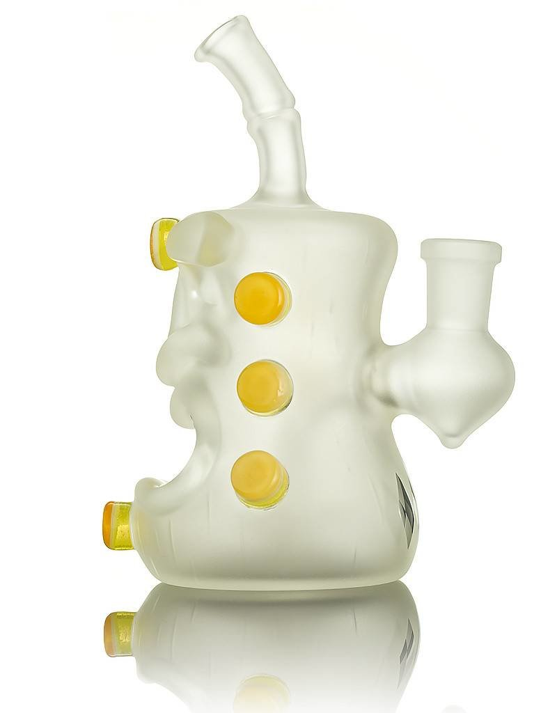 Don Chile Ortega Don Chile Ortega Clear / Lemon Drop / Transparent Orange SB Tiki Dab Rig