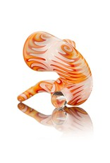 C4 Glass C4 Pink, Orange, Red & Yellow Sherlock