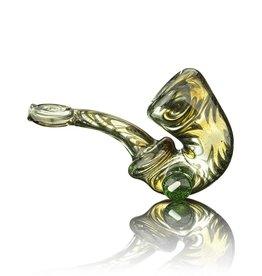C4 Glass SOLD C4 Green & Steel Wool Sherlock