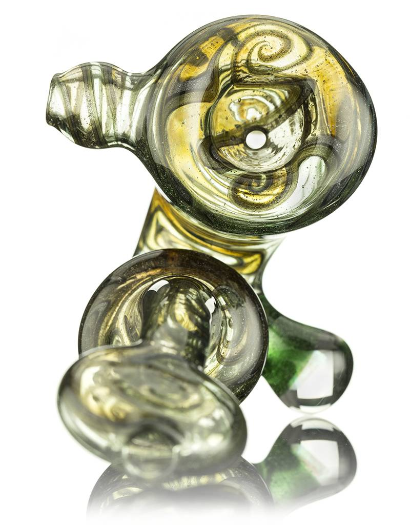 C4 Glass C4 Green & Steel Wool Sherlock