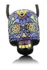 Joei Masataka Joei Masataka Purple Sugar Skull Glass Pendant