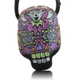 Joei Masataka SOLD Joei Masataka Pink Sugar Skull Glass Pendant