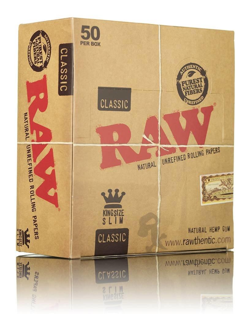 Raw RAW King Size Classic Slim Box/50
