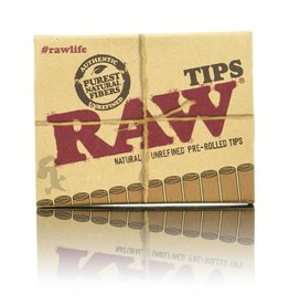 Raw RAW Pre-Rolled Tips