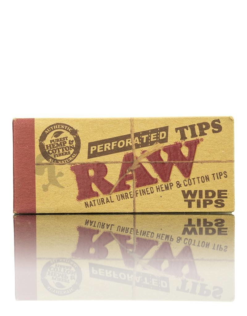 Raw RAW Wide Perforated Tips