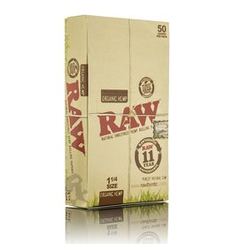 Raw RAW Organic Hemp 1 1/4  24/Box