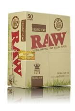 Raw RAW Organic Hemp King Size Slim 50/Box