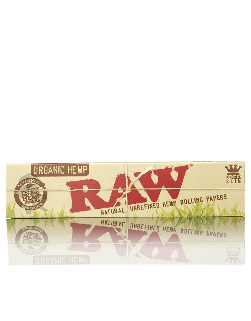 Raw RAW Organic Hemp King Size Slim