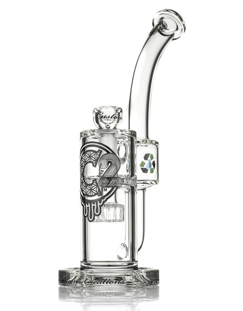Custom Creations C2 Showerhead to Ratchet Perc Recycler 50mm Custom Creations