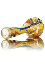 David James David James Small Glass Spoon Pipe w/ Dichro 1 Inside Out