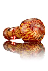 Nelson Glassworks Spoon Pipe by Nelson Square Coil Glass Spoon Pipe 1 - Inside Out
