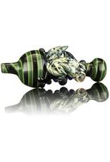 UKIAH Ukiah Black & Green Bubble Cap w/ Blue Frog