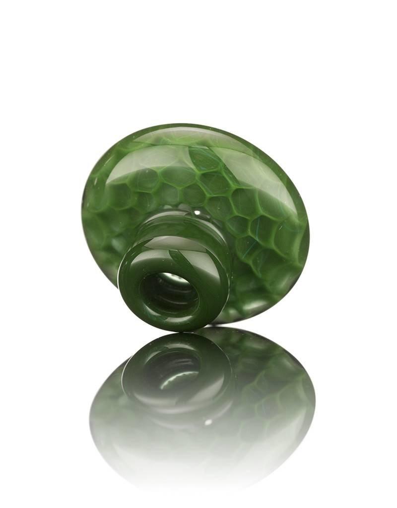 BEAK Glass Beak Green Honeycomb Directional Carb Cap