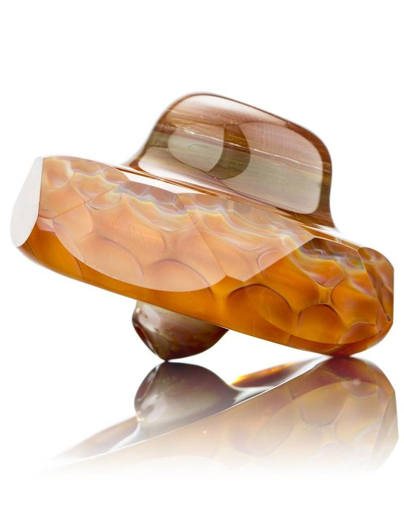 BEAK Glass SOLD Beak Faceted Honey Dab Rig Set w/ Pelican 1120