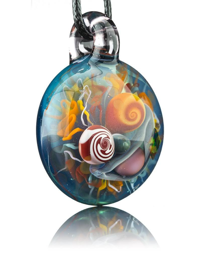 Mike Gong Mike Gong Rainbow Acid Eater Pendant