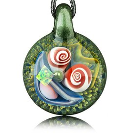 Mike Gong SOLD Mike Gong Mighty Moss Acid Eater Pendant