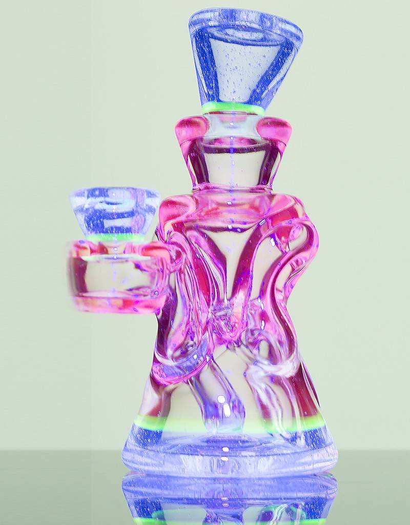 Rycrafted Glass Rycrafted Glass UV Micro Recycler Dab Rig