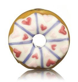KGB x Sarah Marblesbee Valentine's 2018 KGB x Sarah Marblesbee White Frosting & Hearts Donut Chillum