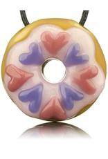 KGB x Sarah Marblesbee SOLD Valentine's 2018 KGB x Sarah Marblesbee Donut Pendant