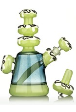 KGB Glass KGB White Frosted Antidote Dab Rig Set