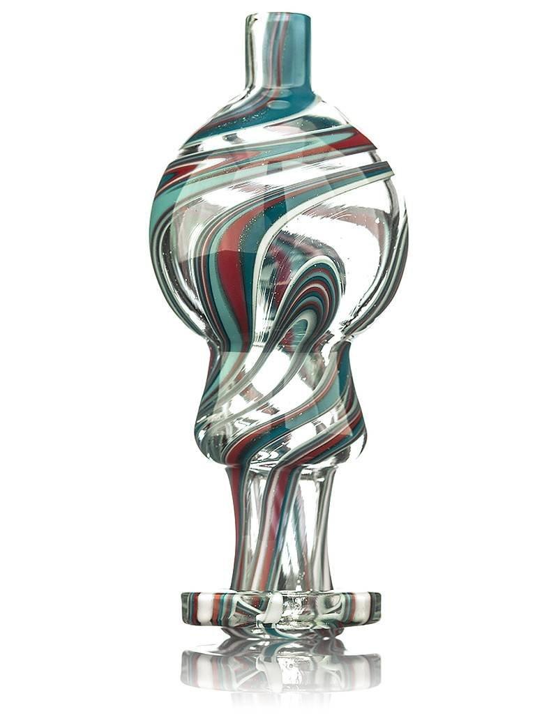 Frit Glass 25mm Frit Glass Bubble Carb Cap #4