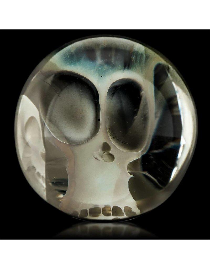 Bob Snodgrass Bob Snodgrass Two Skull Marble Snodgrass Family Glass