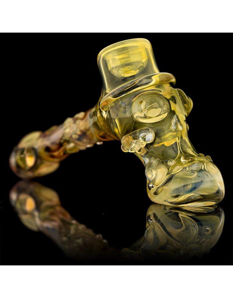 Bob Snodgrass Bob Snodgrass Top Hat with Skull Stem Snodgrass Family Glass