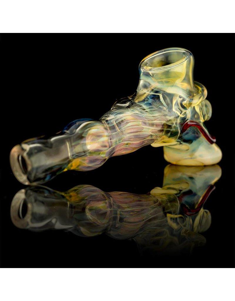 Bob Snodgrass Bob Snodgrass MR Happy Hammer Pipe Snodgrass Family Glass