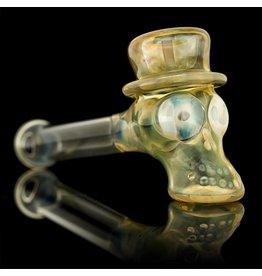 Ginny Snodgrass-Gietl SOLD Ginny Snodgrass-Gietl Top Hat No Cheek Bones #1 Snodgrass Family Glass