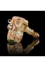 Hugh Glass Hugh Glass Fume Hammer with Skull Implosion Snodgrass Family Glass