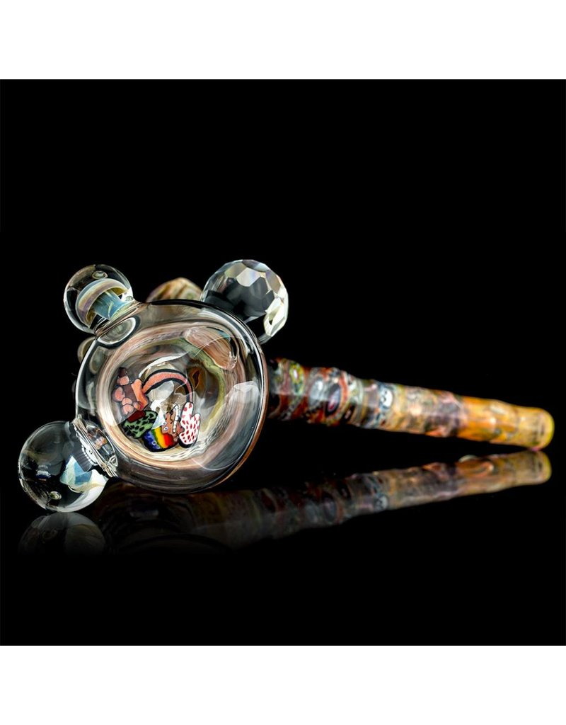 Bob Snodgrass x ChemDog x Jerry Kelly x Chris Hubbard x Ginny Snodgrass-Gietl x Jonathan Gietl x nickniceglass Bubbler Snodgrass Family Glass