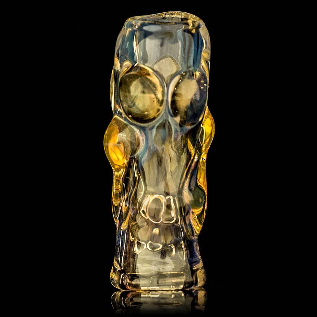 Bob Snodgrass SOLD Bob Snodgrass Skull Bead (A) Snodgrass Family Glass