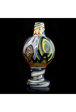 Dillinger Glass Bubble Carb Cap | Dillinger Choas UV #1