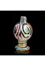 Dillinger Glass Bubble Carb Cap | Dillinger Choas UV #3